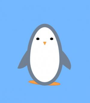 纯CSS3动画属性样式表设计制作超级可爱的企鹅图像样式效果
