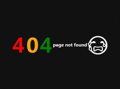 js网站特效代码与CSS3制作404静态页面随鼠标移动而晃动效果