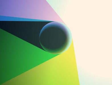 HTML5和canvas网页特效代码绘制超级炫酷的圆形放射性背景动画效果
