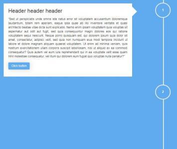 纯CSS3样式代码设计制作个性大气的垂直时间轴样式效果
