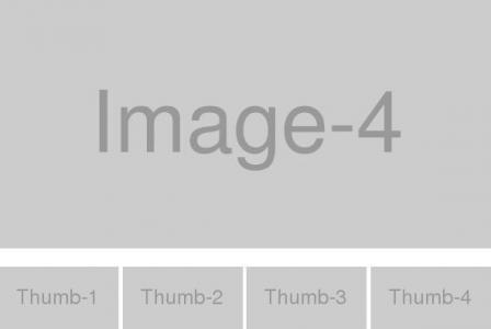 jQuery网页特效代码设计制作带缩略图的图片幻灯片