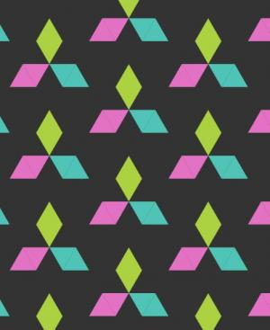 canvas网页特效代码绘制不同色彩的三角形图案切换背景动画效果