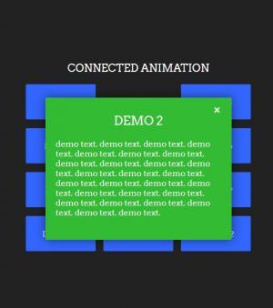 js特效代码和CSS样式实现通过鼠标点击按钮弹出层展示动画效果