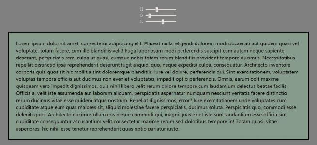 js设计代码与CSS3背景色彩属性样式实现通过滑块设置网页背景切换效果