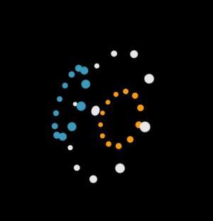 CSS3网站动画特效代码设计制作色彩粒子3D旋转动画效果