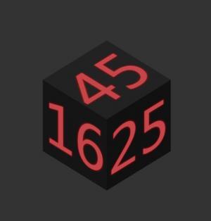 HTML网站创意3D几何立方体数字时钟旋转动画效果HTML5网页时钟下载网站