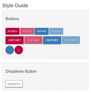 HTML网页布局样式代码bootstrap设计前端开发常用的UI组件样式效果