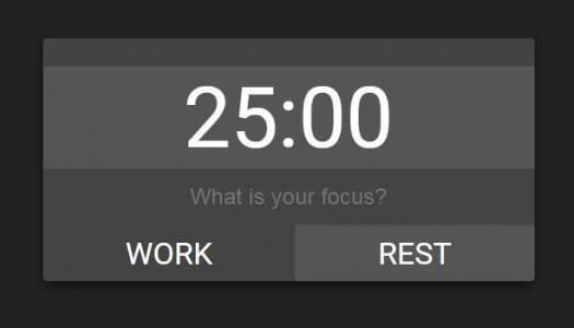 HTML和JavaScript网页时钟代码设计制作简单的数字倒计时功能样式效果