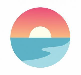 HTML网页卡通图像设计大全CSS3动画绘制可爱日出日落卡通动画效果