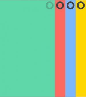 网站全屏幻灯片设计素材大全js特效和HTML代码制作环形焦点手风琴幻灯片
