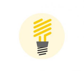 鼠标移动特效代码纯CSS3选择器属性大全绘制卡通灯泡鼠标滑过状态切换效果