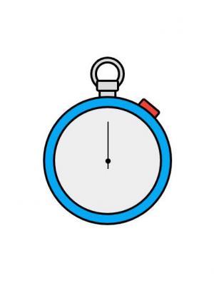 素材网站HTML网页代码和CSS样式设计简笔画时钟图像样式效果