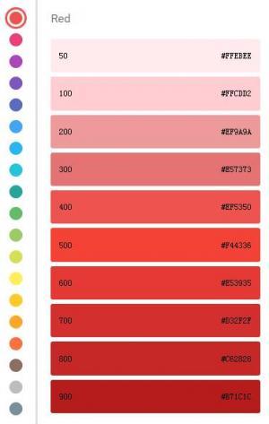 js网页特效代码和CSS3网页布局制作色彩选择器鼠标滑过凸显展示样式效果