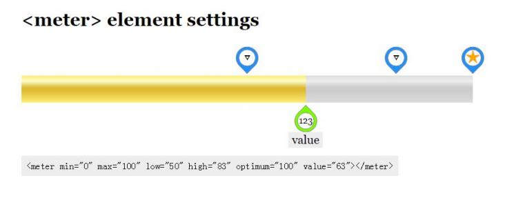 JavaScript网页拖拽代码和CSS3属性设计制作简单滑块拖拽样式效果