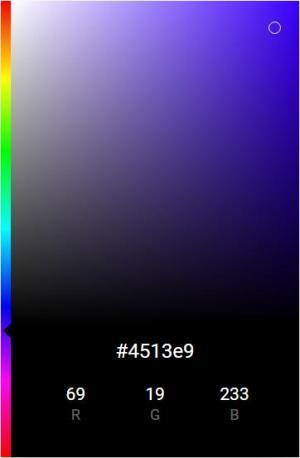 jQuery网页特效代码和CSS3样式表选择器制作PS拾色器调色面板样式效果