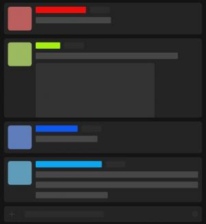 JavaScript滑动代码和HTML代码设计布局制作简单列表样式向上滑动效果