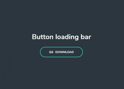 JavaScript特效代码和CSS动画样式表设计制作鼠标点击按钮进度条加载动画效果