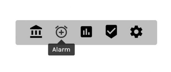 HTML代码和CSS属性样式布局制作带icon图标的网站导航栏鼠标滑块信息展示效果