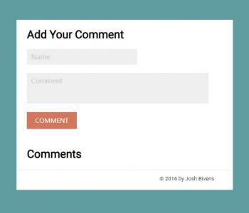 JavaScript网站特效代码和HTML标签网页样式设计制作大气用户评论表单样式效果
