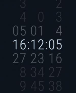 JavaScript网页时钟代码和CSS3数字属性样式设计制作数字时钟滑动效果