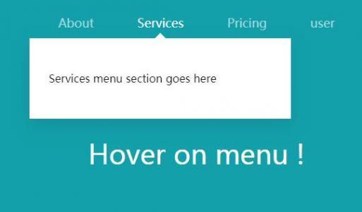 jQuery特效代码和HTML布局制作网站首页导航栏鼠标滑过带提示框展示效果
