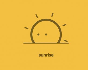 JavaScript网站特效代码和CSS动画属性设计制作简笔画卡通太阳旋转动画效果
