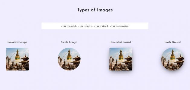 HTML网站图片布局排版样式代码CSS属性样式表布局设置图片图像样式效果