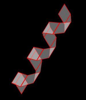 HTML网页标签代码和CSS动画属性样式绘制3D螺旋状图形样式效果
