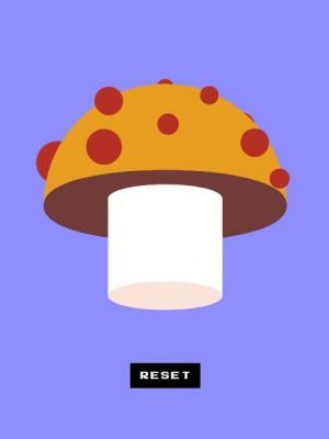 js网站特效代码与CSS3设计制作3D蘑菇图形图像样式鼠标拖拽3D旋转动画效果