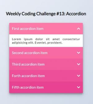 JavaScript网站特效代码与HTML网站布局设计制作垂直列表鼠标点击展开收缩效果
