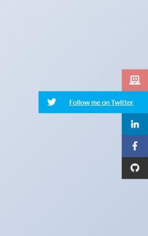 HTML网页布局代码和CSS样式表设计制作网站右侧菜单列表鼠标滑块滑动展开效果