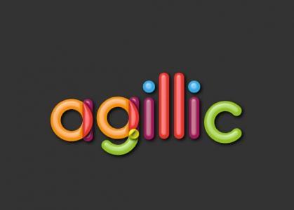 网站创意文字LOGO素材设计代码CSS3样式设计创意卡通LOGO图像动画效果