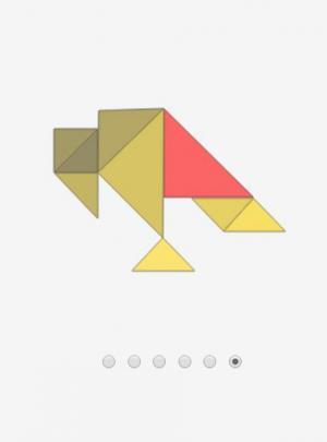 HTML网页拼图素材设计代码canvas画布实现三角形拼图样式效果