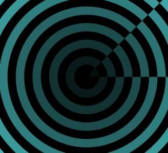 CSS3网页动画属性代码与网站特效canvas画布绘制线圈环形圆图形旋转动画效果