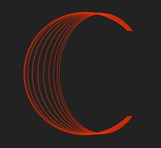 JavaScript代码与网页样式表CSS动画属性绘制线性圆余波式动画效果