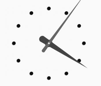 JavaScript网站时钟代码与CSS动画圆角属性设计制作简单创意的圆形时钟