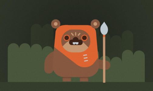 网页特效代码JavaScript与CSS属性设计制作可爱卡通小熊图像样式效果