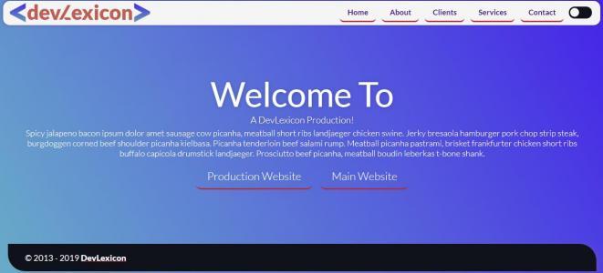 JavaScript特效代码与HTML标签布局制作创意网站静态页面模板样式效果