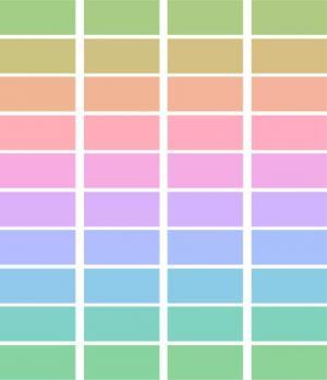HTML标签样式代码与CSS色彩渐变属性制作单元格背景渐变切换动画效果