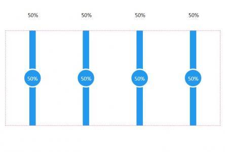 JavaScript特效素材网站代码与CSS制作带百分比数字的垂直滑块按钮