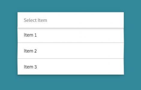jQuery网站特效代码与HTML布局制作垂直列表鼠标点击实现列表滑动展示效果