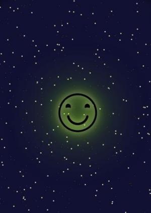 vue.js特效代码与CSS属性选择器设计制作夜间圆形表情图像旋转动画效果