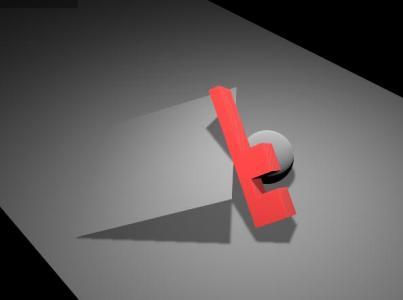canvas网页特效代码绘制带阴影效果的3D立体字母图像旋转动画效果