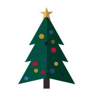 HTML网页动画特效代码与CSS选择器样式绘制带闪烁动画效果的卡通圣诞村