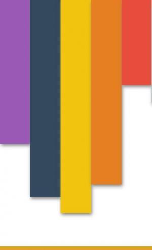 js特效网站代码与HTML布局排版垂直色彩柱状图形鼠标滑过向上滑动动画效果