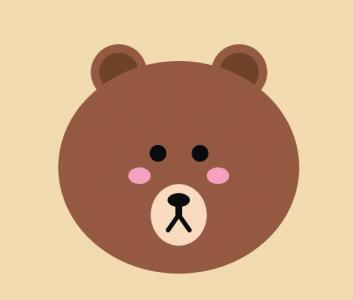 CSS3网页卡通头像素材设计与制作代码绘制可爱小熊头像样式效果