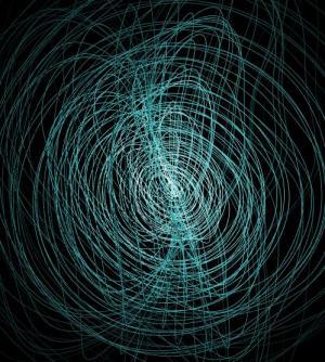 网页特效代码canvas画布绘制带高光效果的3D线性图像旋转动画效果