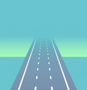 JavaScript网站特效代码与CSS动画素材属性样式表绘制汽车在高速公路行驶动画效果
