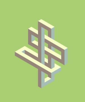 HTML标签样式代码与canvas画布绘制3D立体结构图形图像旋转动画效果