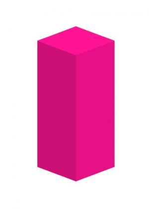 CSS3网页3D动画属性和HTML标签设计制作红色柱形收缩展示动画效果